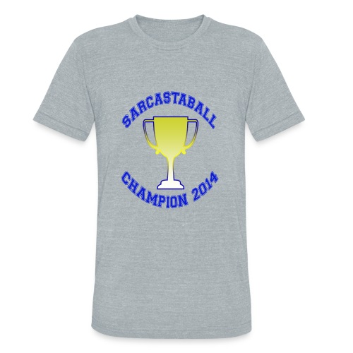 Sarcastaball Champion 2014 - Unisex Tri-Blend T-Shirt