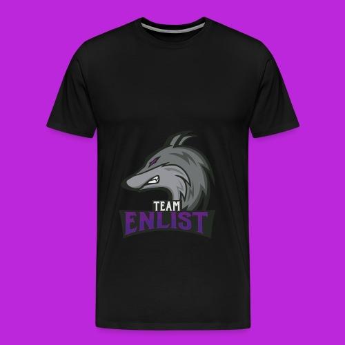 Enlist eSports Hoodie - Men's Premium T-Shirt