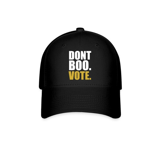 Obama Dont Boo Vote black and gold Hoodie M - Baseball Cap