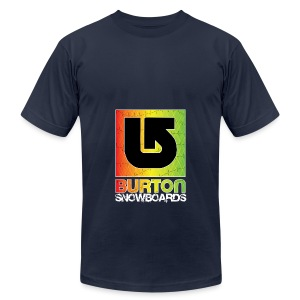 Burton Snowboard - Men's T-Shirt by American Apparel