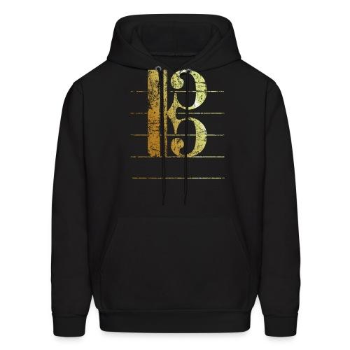 Tenor Clef T-Shirt (Ancient Gold) - Men's Hoodie