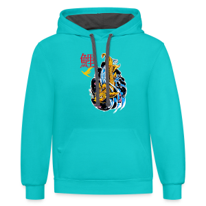 Mythic Koi T-Shirts - Contrast Hoodie