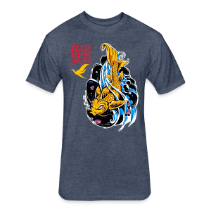 Mythic Koi T-Shirts - Fitted Cotton/Poly T-Shirt by Next Level