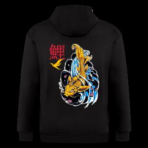 Mythic Koi T-Shirts - Men's Zip Hoodie