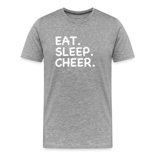 Eat Sleep Cheer - Men's Premium T-Shirt