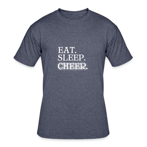 Eat Sleep Cheer - Men's 50/50 T-Shirt