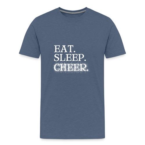 Eat Sleep Cheer - Kids' Premium T-Shirt