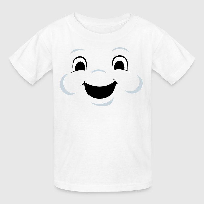 Marshmallow man face - Kids' T-Shirt