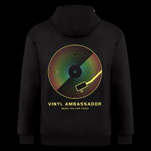 Vinyl Revival T-Shirts - Men's Zip Hoodie