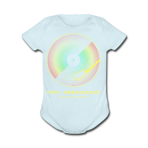 Vinyl Revival T-Shirts - Short Sleeve Baby Bodysuit