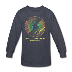 Vinyl Revival T-Shirts - Kids' Long Sleeve T-Shirt