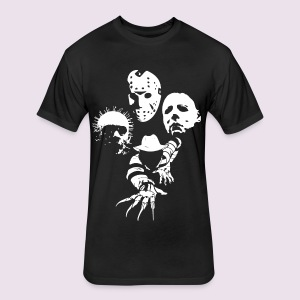 Masters of Horror - Fitted Cotton/Poly T-Shirt by Next Level