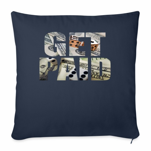 Entrepreneur By Nature Get Paid V Neck - Throw Pillow Cover