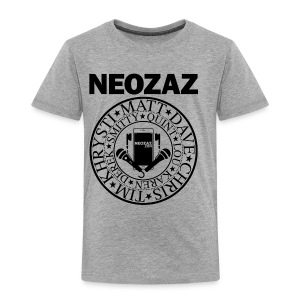NEOZAZ Philadelphia Founders Logo - Black - Toddler Premium T-Shirt