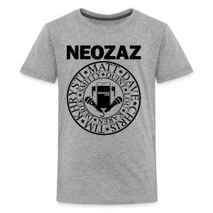 NEOZAZ Philadelphia Founders Logo - Black - Kids' Premium T-Shirt