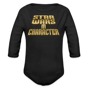 Full SWIC Logo - Long Sleeve Baby Bodysuit