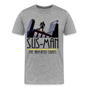 Sus-Man The Animated Series T-Shirt - Men's Premium T-Shirt