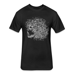 Hair - Fitted Cotton/Poly T-Shirt by Next Level
