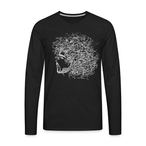Hair - Men's Premium Long Sleeve T-Shirt