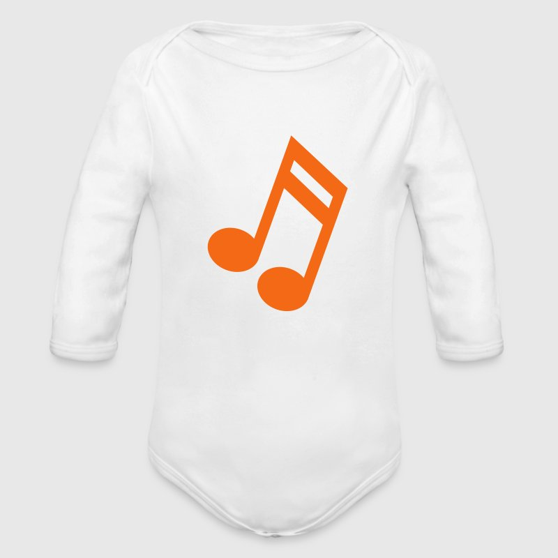 Music Note Baby & Toddler Shirts - Long Sleeve Baby Bodysuit