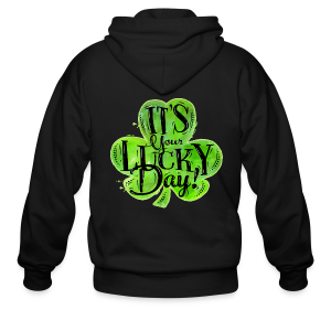 St Patricks Lucky Day T-Shirts - Men's Zip Hoodie