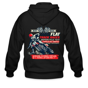 Dirt Dash Moto T-Shirts - Men's Zip Hoodie