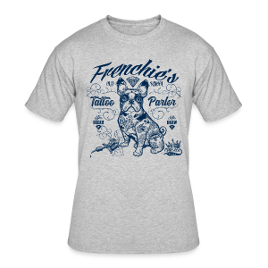 Frenchie's Old School T-Shirts - Men's 50/50 T-Shirt