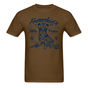 Frenchie's Old School T-Shirts - Men's T-Shirt