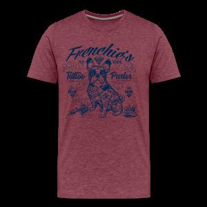 Frenchie's Old School T-Shirts - Men's Premium T-Shirt