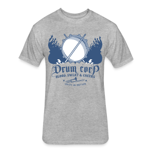 Drum Corp - Fitted Cotton/Poly T-Shirt by Next Level