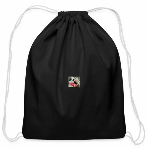 Kitten Lickin' Good - Cotton Drawstring Bag
