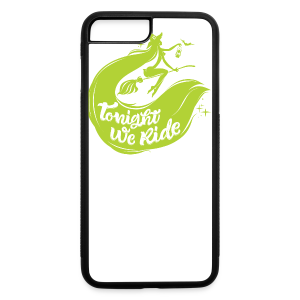 Halloween_Witch_lime T-Shirts - iPhone 7 Plus/8 Plus Rubber Case