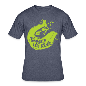 Halloween_Witch_lime T-Shirts - Men's 50/50 T-Shirt