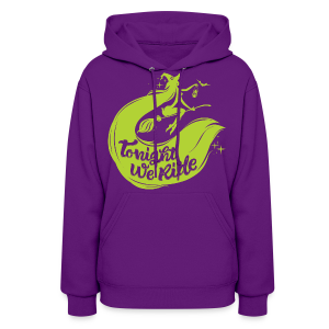 Halloween_Witch_lime T-Shirts - Women's Hoodie