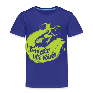 Halloween_Witch_lime T-Shirts - Toddler Premium T-Shirt