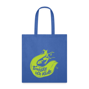 Halloween_Witch_lime T-Shirts - Tote Bag