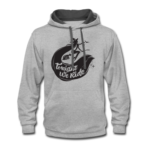 Halloween_Witch T-Shirts - Contrast Hoodie