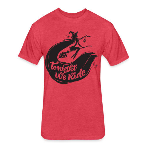 Halloween_Witch T-Shirts - Fitted Cotton/Poly T-Shirt by Next Level
