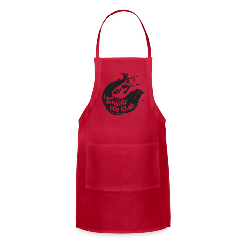 Halloween_Witch T-Shirts - Adjustable Apron