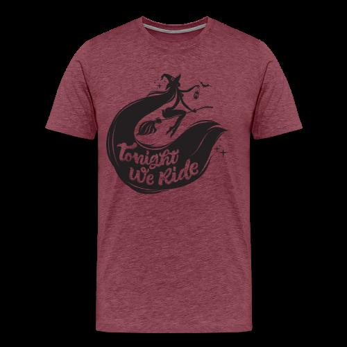 Halloween_Witch T-Shirts - Men's Premium T-Shirt