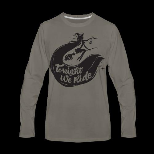 Halloween_Witch T-Shirts - Men's Premium Long Sleeve T-Shirt
