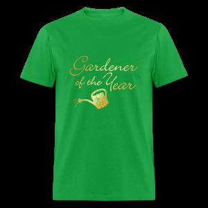 Gardener of the Year T-Shirt (Gold) - Men's T-Shirt