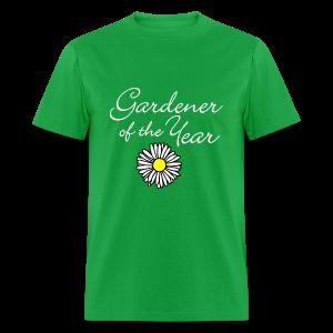 Gardener of the Year (White) T-Shirt - Men's T-Shirt