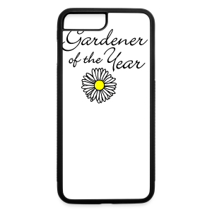Gardener of the Year (Black) T-Shirt - iPhone 7 Plus/8 Plus Rubber Case