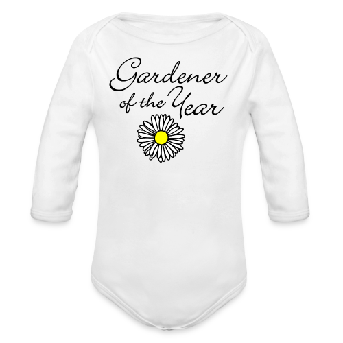 Gardener of the Year (Black) with Daisy