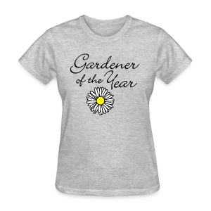 Gardener of the Year (Black) T-Shirt - Women's T-Shirt