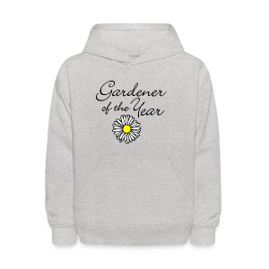 Gardener of the Year (Black) T-Shirt - Kids' Hoodie