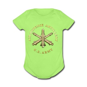 ADA Branch Insignia - Short Sleeve Baby Bodysuit