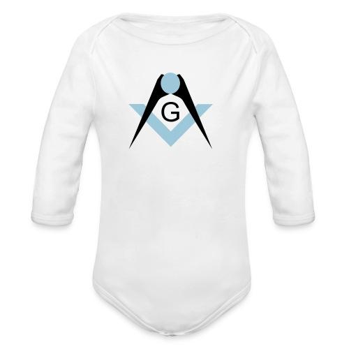 Freemasons bib - Organic Long Sleeve Baby Bodysuit