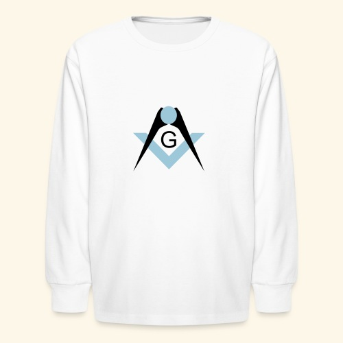 Freemasons bib - Kids' Long Sleeve T-Shirt